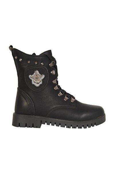 Twingo 625 Siyah Termal Kürklü Kışlık Kadın Bot Ayakkabı