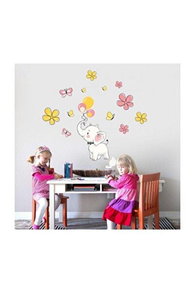 Artikel Sevimli Fil Duvar Sticker, Çocuk Odası Sticker,duvar Dekorasyonu