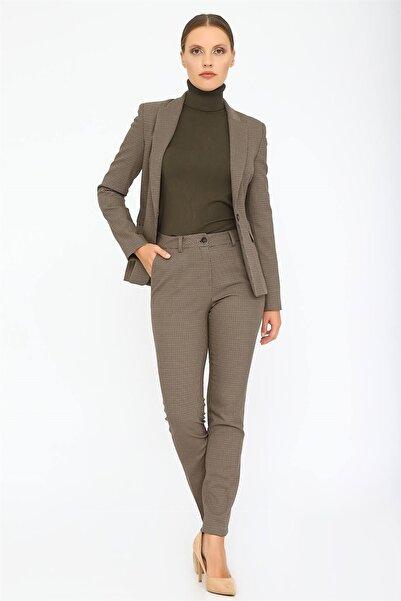 Chima Kadın Vizon Kemeri Verev Pantolon K20PA048