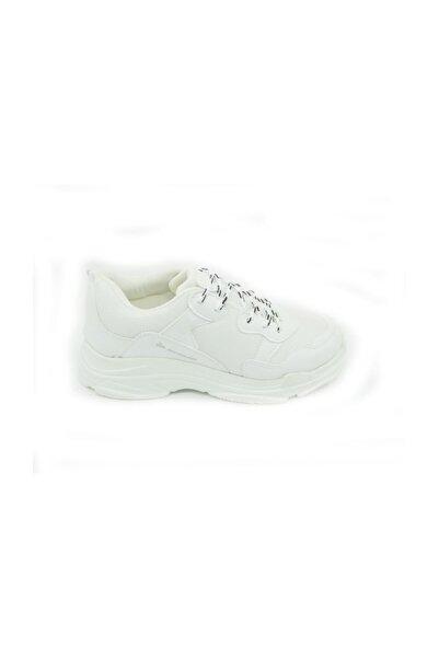 DUNLOP Unısex Beyaz Günlük Hafif Taban Spor Ayakkabı 105120