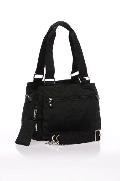 SMART BAGS Smb1125-0001 Siyah Kadın Omuz Çantası