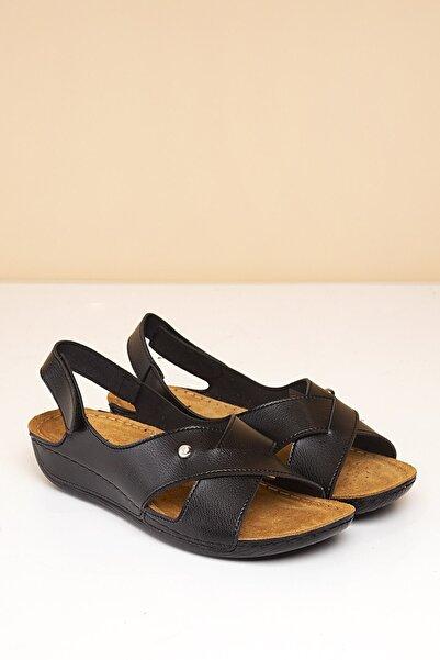 Pierre Cardin Pc-6171 Siyah Kadın Sandalet