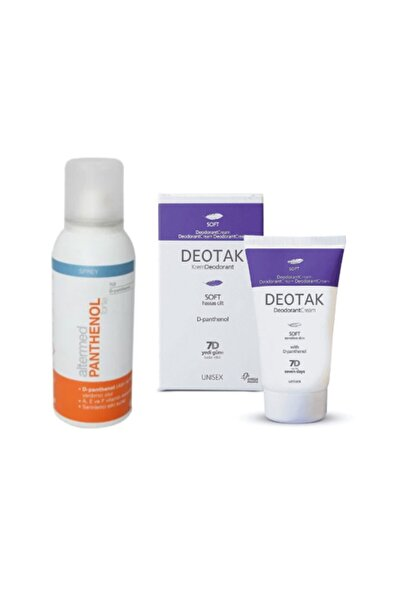 Deotak Krem Deodorant Soft 35 Ml+altermed Panthenol Forte Spray 150 Ml