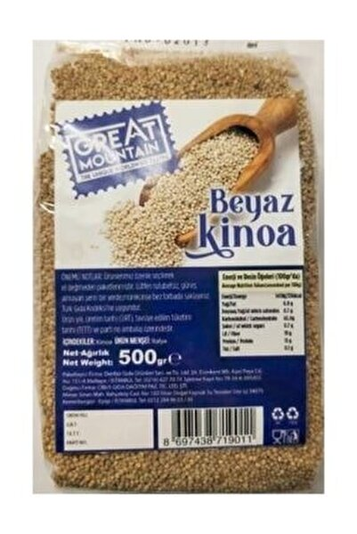 GREAT MOUNTAIN Beyaz kinoa 500g