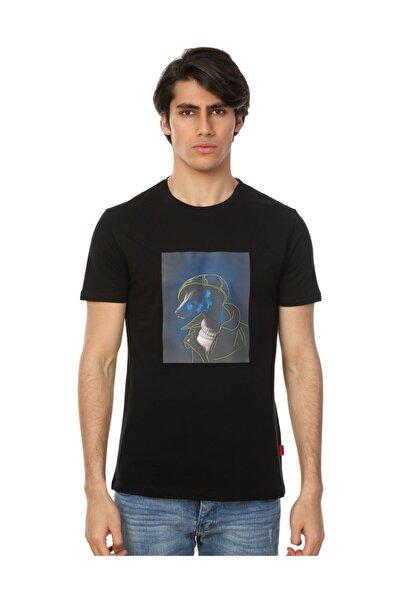 John Frank Erkek Multicolor T-Shirt