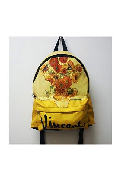 Köstebek Vincent Van Gogh - Sunflowers Sırt Çantası
