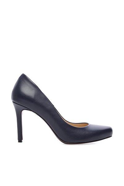 KEMAL TANCA Lacivert Kadın Vegan Stiletto Ayakkabı 22 2069 BN AYK