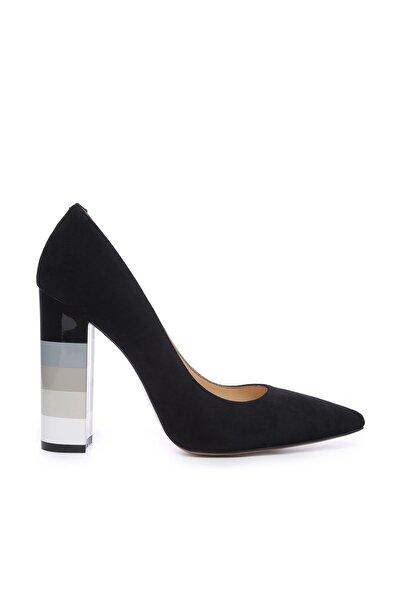 KEMAL TANCA Siyah Kadın Vegan Stiletto Ayakkabı 22 894 BN AYK