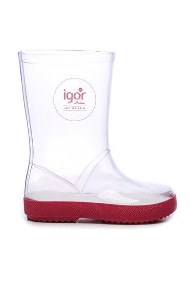 IGOR Pembe Çocuk Pvc Yağmur Çizmesi Çizme 422 W10187 CZM 22-30