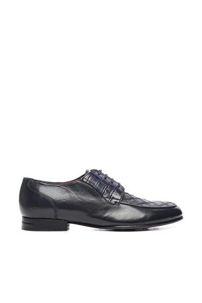 KEMAL TANCA Hakiki Deri Lacivert Erkek Klasik Ayakkabı 477 45826 K ERK AYK