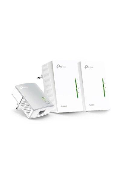 TP-LINK Tl-wpa4220t Kıt 300mbps Av600 3lü Powerline Adaptör