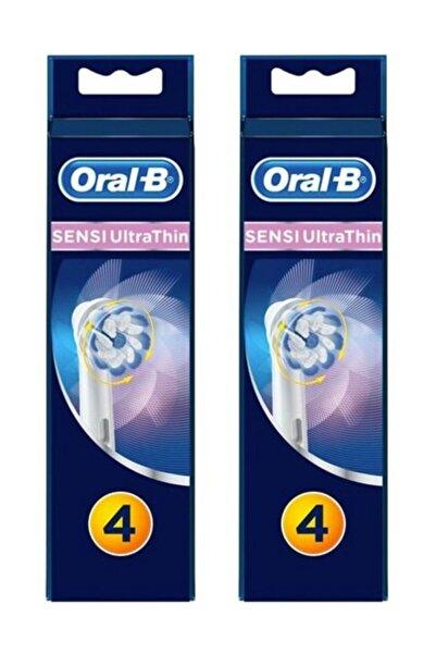 Oral-B Diş Fırçası Yedek Başlığı Sensitive Ultra Thin 4'lü x 2 Adet