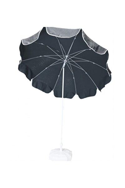 sunfabric Antrasit Gri Polyester Şemsiye Bidon Hediyeli