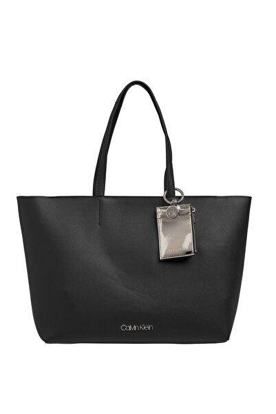Siyah Kadın Shopper Omuz Çantası