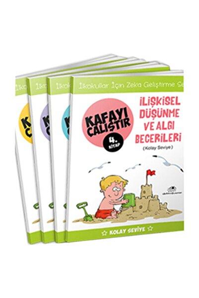 Uğurböceği Yayınları Kafayı Çalıştır Seti Kolay Seviye 4 Kitap Takım