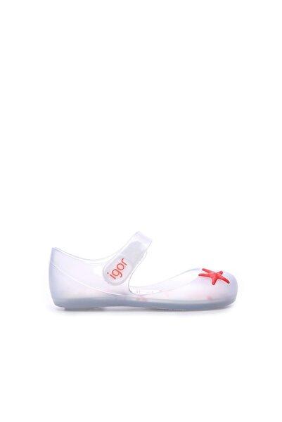 IGOR Beyaz Çocuk Pvc Plaj Sandalet 422 S10227 SNDLT 21-30 Y19