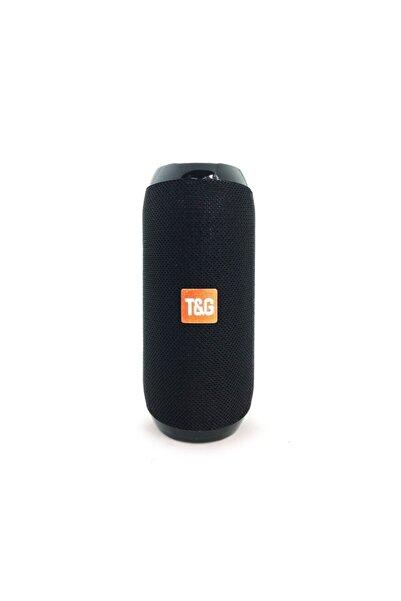 TG Extra Bass Bluetooth Hoparlör Taşınabilir Kablosuz Ses Bombası Siyah