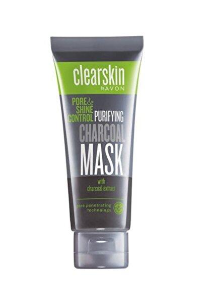 AVON Clearskin Pore Shine Kömür Maske 75 ml