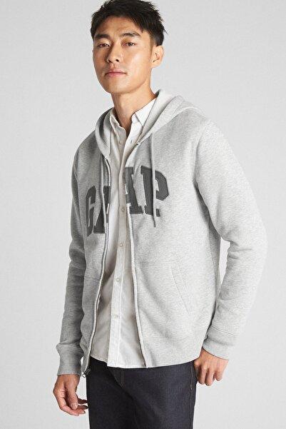GAP Erkek Logo Kapüşonlu Sweatshirt 851516