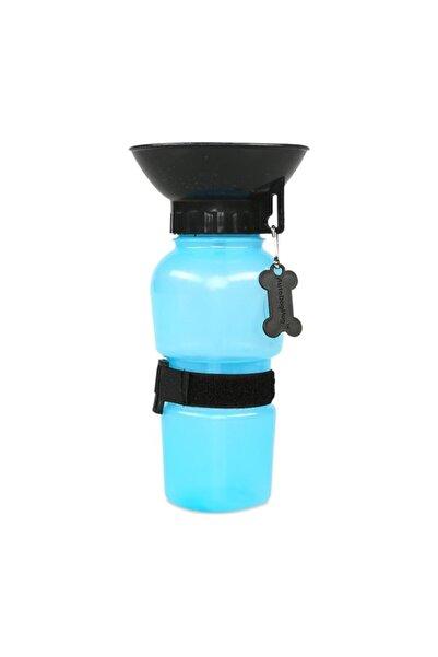 Köpek Su Matarası, Seyahat Su Kabı Mavi