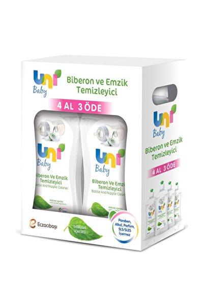 Uni Baby Biberon ve Emzik Temizleyici 4'lü Set 500 ML