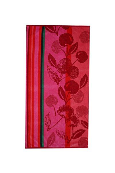 Özdilek Summer Heat Cherry Kadife 70x140 Cm. Plaj Havlusu