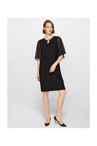 Faik Sönmez Kadın Siyah Abiye Elbise 39100