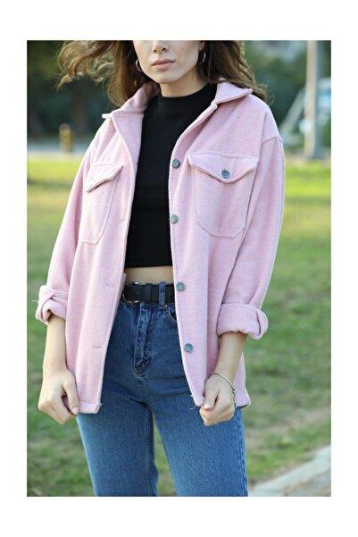 BYDIBA Kadın Kaşe Ceket