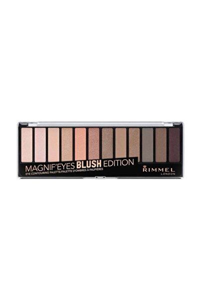RIMMEL LONDON Far Paleti - Magnif'Eyes Eyeshadow Palette 12'li Blush Edition 3614224525125