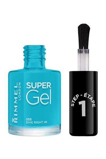 RIMMEL LONDON Oje - Super Gel 053 Dive Right In 12 ml 30121652