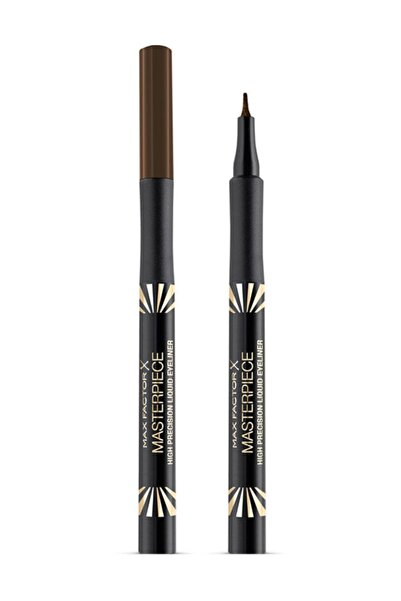 Max Factor Likit Kahverengi Eyeliner - High Precision Liquid Eyeliner 10 Chocolate 4015400903925