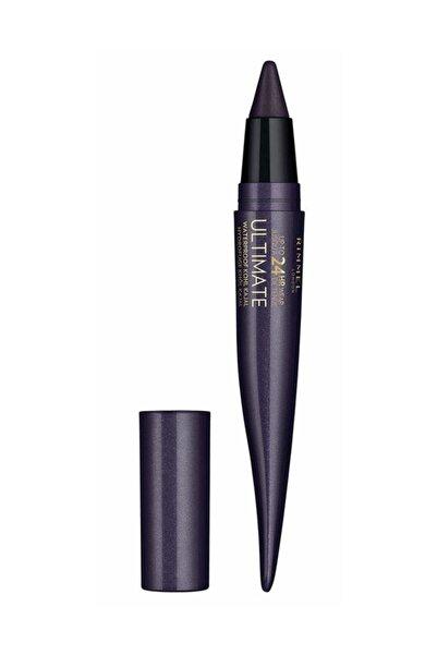 RIMMEL LONDON Suya Dayanıklı Eyeliner - 24 Saat Kalıcı Ultimate Kohl Kajal Deep Amethyst 3614225335242