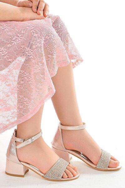 Kiko Kids Kız Çocuk 3 cm Topuk Sandalet Ayakkabı