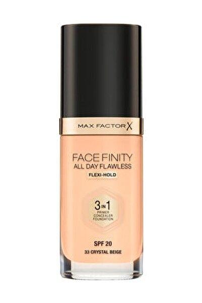 Fondöten - FaceFinity All Day Flawless Foundation 33 Crystal Beige 3614225851551