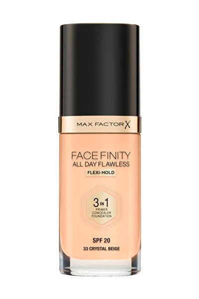 Max Factor Fondöten - FaceFinity All Day Flawless Foundation 33 Crystal Beige 3614225851551
