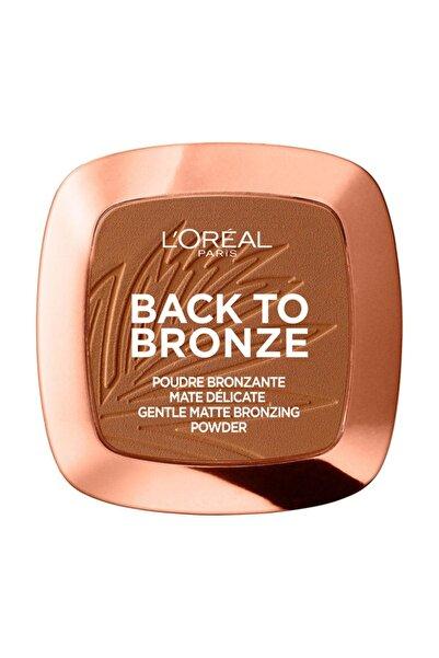 L'Oreal Paris Allık - Skin Awakening Blush 02 Back To Bronze