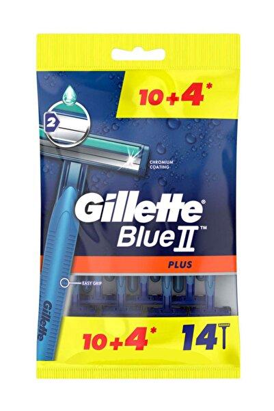 Gillette Blue2 Plus Kullan At Tıraş Bıçağı 14'lü
