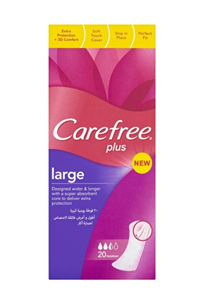 Carefree Large 20'Li günlük Ped 3574660039559