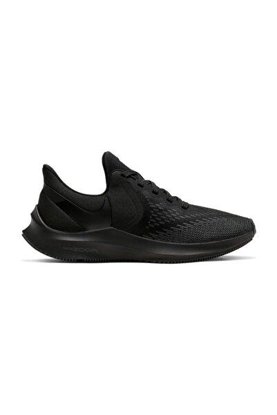 Nike Zoom Wınflo 6 Aq8228-004 Kadın Spor Ayakkabı Siyah-38