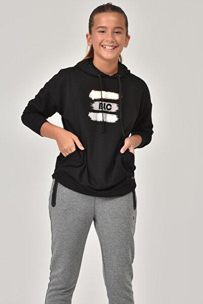 bilcee Siyah Kız Çocuk Sweatshirt FW-1485