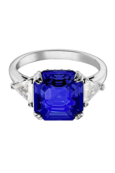 Swarovski Yüzük Attract:ring Trilogy Sap Dmul/rhs 55 5512566