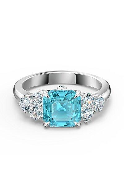 Swarovski Kadın Yüzük Sparkling-ring Aqua-rhs 58 5535603