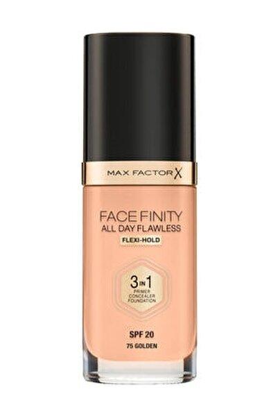 Fondöten - FaceFinity All Day Flawless Foundation 75 Golden 3614225851667