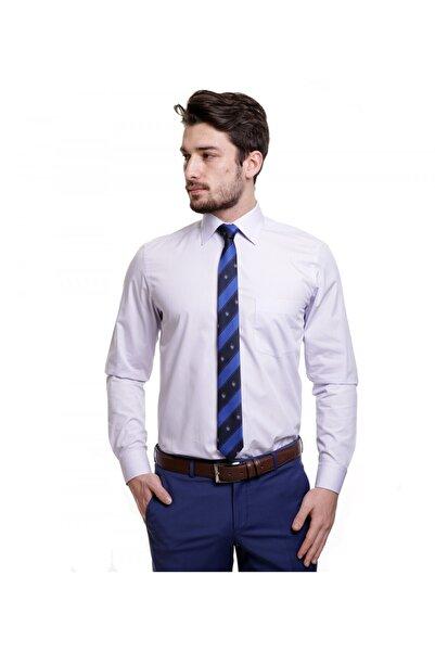 Karaca Erkek Regular Fit Klasik Açık Lila Gömlek