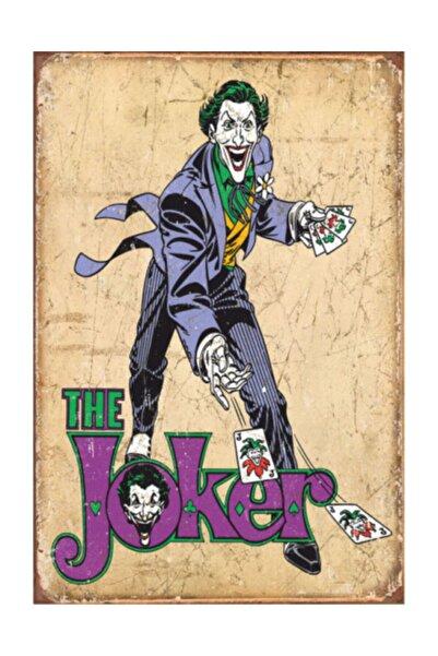 Hayat Poster The Joker Retro Vintage Ahşap Poster