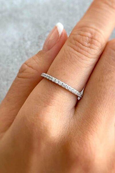 Crystal Diamond Zirconia 0.03 Carat Tamtur Yüzük