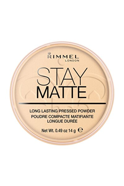 RIMMEL LONDON Pudra - Stay Matte Pressed Powder 001 Transparent 14 g 3607345064505
