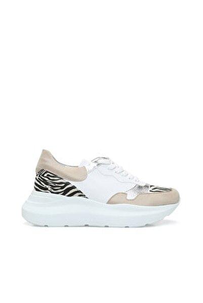 Zebra Bej Sneaker