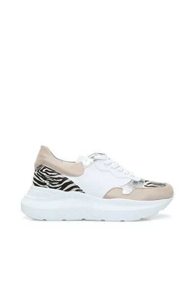 Dıvarese Zebra Bej Sneaker