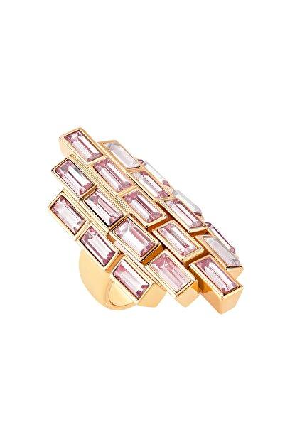 Swarovski Yüzük Fluid Ring Fring Lame/ros 58 5515360